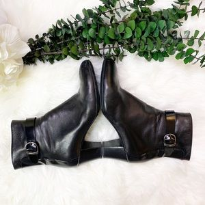 AGL City Napa Leather Ankle Bootie